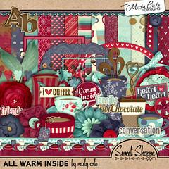 Misty Cato - All Warm Inside (misshappy80) Tags: groen blauw rood thee paars koffie chocolademelk mistycato