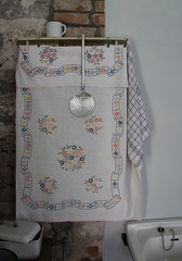(Gerlinde Hofmann) Tags: kitchen museum germany village handmade embroidery thuringia textile kitchentool formermonastery klostervessra
