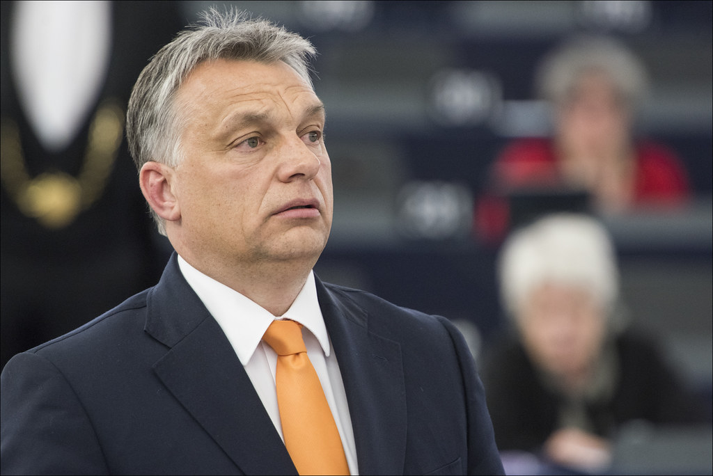 Hungarian Prime Minister Viktor Orbán d by European Parliament, on Flickr