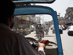Rickshaw wallah gave us a free ride!