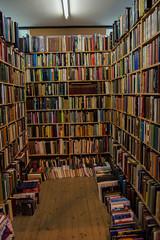 Variety (DSC_3968) (AngusInShetland) Tags: uk shop reading highlands indoor books bookshelf bookstore used secondhand bookshop inverness privateeye planetsimpson secondhandbookshop leakeys lyallwatson charlesberlitz