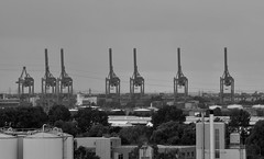 Industrie / Industrie (Andreas Meese) Tags: hamburg hafen wilhelmsburg nikon d5100 regen rain rainy regentag industry industrie wolken clouds wolkig cloudy