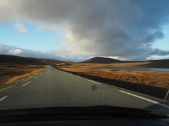 Driving In The Far North (jan-krux photography - thx for 1.6 Mio+ views) Tags: northcape nordkapp norwegen norge norway fahren driving north norden landscape landschaft strasse road olympus em1 omd clouds wolken europa europe sky himmel