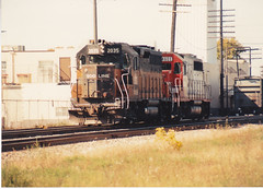 Local-ized (MILW157) Tags: soo 2035 4600 gp40 line watertown patrol sub train railroad brownberry bandit