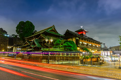 (DSC_2933) (nans0410(busy)) Tags: japan   hotspring ehime shikoku dogoonsen matsuyama cartrack nightview building light outdoors scenery
