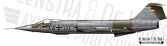 RF-104G EA-121 683D-8137 (Lieuwe de Vries) Tags: rf104g immelman ag51 ea121 starfighter recon f104 illustration profile drawing artwork lieuwedevries