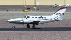 Cessna 414A N278JS (ChrisK48) Tags: 1978 414 aircraft airplane cessna414a dvt kdvt n678js phoenixaz phoenixdeervalleyairport