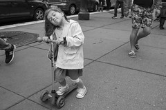 Bliss (The Embarcadero) (Jim Watkins Photography) Tags: sanfrancisco california streetphotography street blackwhite people children embarcadero play