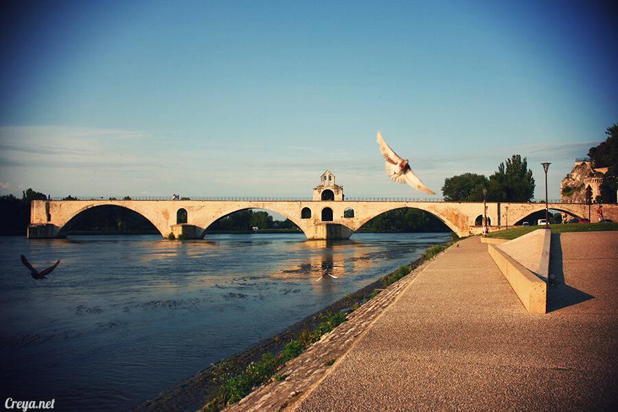 2016.10.16 ▐ 看我的歐行腿▐ 夕陽西下更美麗的南法普羅旺斯古城,亞維儂 18