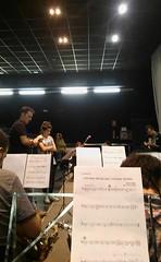 Angy en concierto junto con Onda Big Band en Castellon