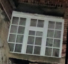 The face in the window at The Galleries of Justice (Avvie_) Tags: nottingham ghost spirit dead dark overnight hunt investigation galleries justice police station caves