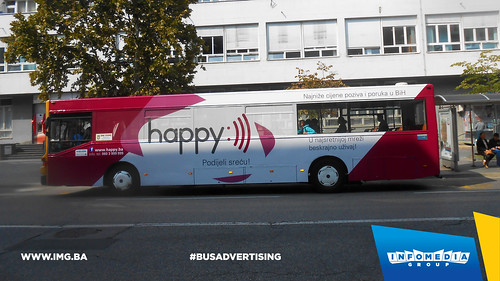 Info Media Group - BH Telecom Happy, BUS Outdoor Advertising, 09-2016 (5)