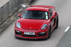 Porsche, Cayman GT4, Causeway Bay, Hong Kong (Daryl Chapman Photography) Tags: ty7421 porsche cayman gt4 german pan panning red causewaybay 1d mkiv car cars auto autos automobile canon eos is ii 70200l f28 road engine power nice wheels rims hongkong china sar drive drivers driving fast grip photoshop cs6 windows darylchapman automotive photography hk hkg bhp horsepower brakes gas fuel petrol topgear headlights worldcars daryl chapman