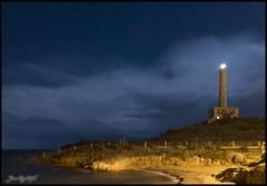 Cabo de Palos (JuandeCT) Tags: night noche faro light cabo palos cartagena