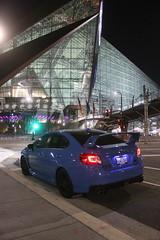 IMG_2201 (86Reverend) Tags: 2016 16 subaru wrx sti serieshyperblue series hyper blue david higgins craig drew srt usa rally city urban minnesota minneapolis night