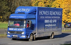 MB - HOWES Removals Blairgowrie Perthshire (scotrailm 63A) Tags: lorries trucks removals