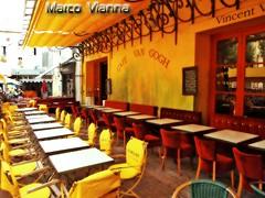 Café Van Gogh, Arles (m@®©ãǿ►ðȅtǭǹȁðǿr◄©) Tags: arles provence france vangogh cafévangogh vincentvangogh impresionismo bar terraza sillas mesas cafélanuit placeduforumarles olympusepl1 zuikoed14÷42mmf35÷56 marcovianna marcoviannafotógrafo m®©ãǿ►ðȅtǭǹȁðǿr◄©