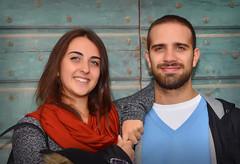 Alessandra e Marco (Andrea Zille) Tags: ritratti volti sguardi peopleportraits portraits colourportraits sorrisi faccesorridenti visi visisorridenti visisimpatici