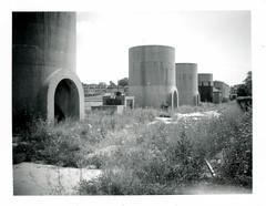 (.tom troutman.) Tags: fuji fp 3000b polaroid land 250 instant film analog blackandwhite abandoned industrial dc