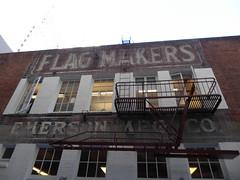 Flag Makers (c_nilsen) Tags: sanfrancisco california digital digitalphoto sanfranciscomuseumofmodernart museum art signs building
