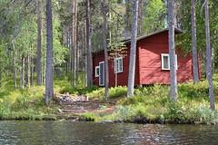 Mokk Kuusamo (Bn Lefort) Tags: mokk chalet finland finlandia finlande isol lac kuusamo red rouge calme exterieur zen