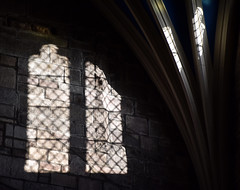 St Giles window 04 (L. Charnes) Tags: edinburgh royalmile stgiles cathedral window arch silhouette