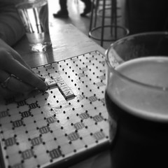 Words and a Pint #words #scrabble #game #boardgame #beer #brewery #macleodale #bnw #bw #blackandwhitephotography #blackandwhitephotographyoftheday #blackandwhite (dewelch) Tags: ifttt instagram words pint scrabble game boardgame beer brewery macleodale bnw bw blackandwhitephotography blackandwhitephotographyoftheday blackandwhite