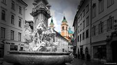 Robba chased by St.Nicolas (Paweł Szczepański) Tags: ljubljana slovenia si exoticimage trolled pinnaclephotography legacy shockofthenew sincity sonyflickraward