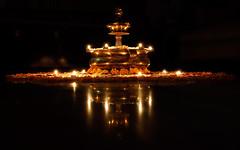 Happy Diwali 2016! (ZeePack) Tags: rangoli traditional diwali deepawali festival hindu lamps lights flowers garlands marigold reflection brasslamp newdelhi home india religious canon 5dmarkiv