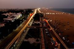 #Chennai #Chennaitraffic #Marinabeach #Madraslighthouse #150feetsheight #Lighttrail #Canon600D #Traveller #Bxphotography (Basil Xavier) Tags: madraslighthouse traveller 150feetsheight lighttrail marinabeach chennaitraffic chennai bxphotography canon600d