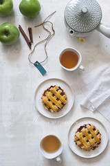 apple pie (asri.) Tags: 2016 onwhite topview foodstyling foodphotography homemade 50mmf14