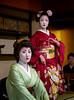 Mamemaru and Mamefuji (Rekishi no Tabi) Tags: gion gionkobu mamemaru mamefuji geiko maiko geisha apprenticegeisha apprenticegeiko kyoto japan leica