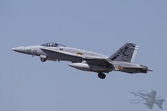 McDonnell Douglas EF-18M Hornet (Newdawn images) Tags: mcdonnelldouglas ef18m hornet 1513 c1526 ala15 spanishairforce military militaryjet jet jetfighter natotigermeet ntm zaragoza spain canoneos6d canonef100400mmf4556lisusm