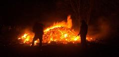 Blackrod Bonfire II (PaulEBennett) Tags: blackrod bonfire blackrodcricketclub november5th silhouette