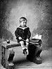 Master O'Brien, Coolmore, Fermoy (National Library of Ireland on The Commons) Tags: ahpoole arthurhenripoole poolecollection glassnegative nationallibraryofireland boy portrait props tennisracquet ball seat scrubbed fermoy déjàvu obrien westquay colbutcher