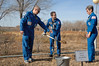 jsc2016e181836 (NASA Johnson) Tags: expedition 50 peggy whitson preflight prelaunch training baikonur cosmodrome cosmonaut hotel tree planting medical checkout thomas pesquet jack fischer flight suit international nasa roscosmos esa france