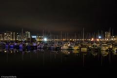 Marina Lights (Eiona R. [back in a while]) Tags: wales unitedkingdom gb swanseamarina afterdark longexposure nightimages wfc smq
