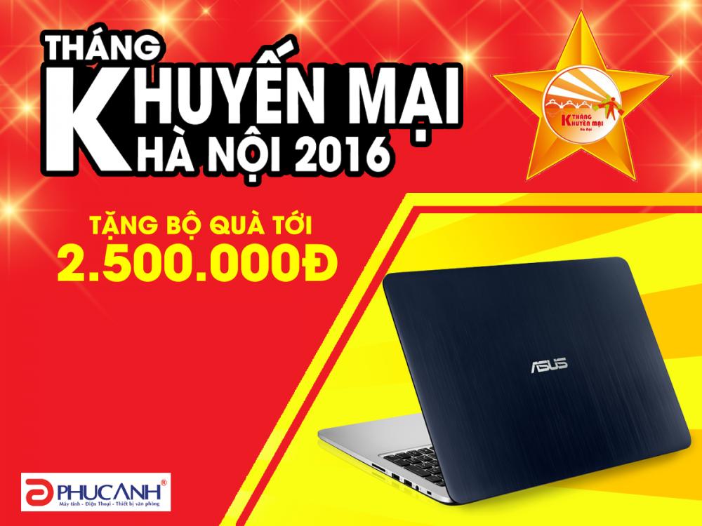Thời điểm vàng mua laptop Asus – Tặng ngay quà khủng