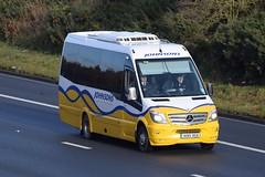 RO15VGV  Johnsons, Henley in Arden (highlandreiver) Tags: ro15vgv ro15 vgv johnsons coaches henley arden mercedes benz bus coach m6 wreay carlisle cumbria