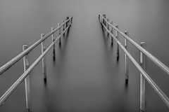 follow me into an ocean of grey (Ferdinand Bart Alst - Pixel Your Soul Photography) Tags: longexposure le blackandwhite bw blackwhite fineart art gangway 180seconds norway grey gray 50mm nikon leefilter bigstopper sirui