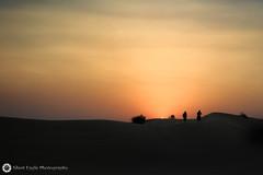 Safari Dubai - United Arab Emirates (Silent Eagle  Photography) Tags: sep silent photography unitedarabemirates safari dubai sunset sky orange outdoor people silhouettes iso500 dusk dawn