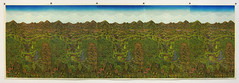 "The ""OVERLOOK"" Woodcut (5 prints) (Tugboat Printshop) Tags: overlook vista nature overlookvista mountains valleys farmland print printmaking woodcut woodblock colorwoodcut handmadewoodcut handmade tugboatprintshop"