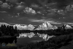 First Light at Oxbow Bend (Theaterwiz) Tags: infrared theaterwiz michaelcriswellphotography oxbowbend grandtetons mountmoran nwnw2016 sunrise grandtetonsnationalpark clouds mountainrange reflections