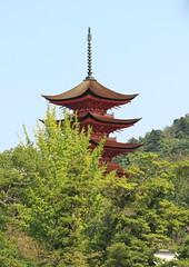 Toyokuni pagoda (iorus and bela) Tags: bela iorus japan 2016 holiday vakantie hiroshima miyajima itsukushima shrine fivetieredpagoda toyokuni