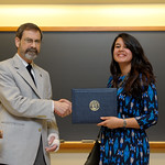 Associate Professor Robert Wickesberg, Namrata Nanavaty: Distinction in Psychology