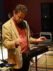 Chris Conway at Quadelectronic 102 (unclechristo) Tags: chrisconway quadelectronic quadstudios theremin