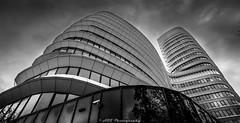 DSC_6677 (A2J Photography) Tags: blackandwhite blackandwhitephotography abstract architecture curves skyscraper building windows sky nikon nikonphotography nikonnl a2jphotography