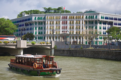 12 - River South (4oClock) Tags: singapore sg50 2015 nikon asia city urban republic architecture colour color boar singaporeriver hillstreet ministry youth culture police central downtown boat ferry river water passenger mccy transport