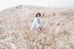 Silent is my Breaking Time (KALA COLOR) Tags: girl woman pure pretty art fashion design theme concept nature mood winter silent