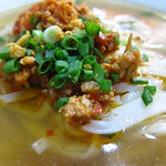 "Shan Noodle Soup <a style=""margin-left:10px; font-size:0.8em;"" href=""http://www.flickr.com/photos/14315427@N00/6920929982/"" target=""_blank"">@flickr</a>"